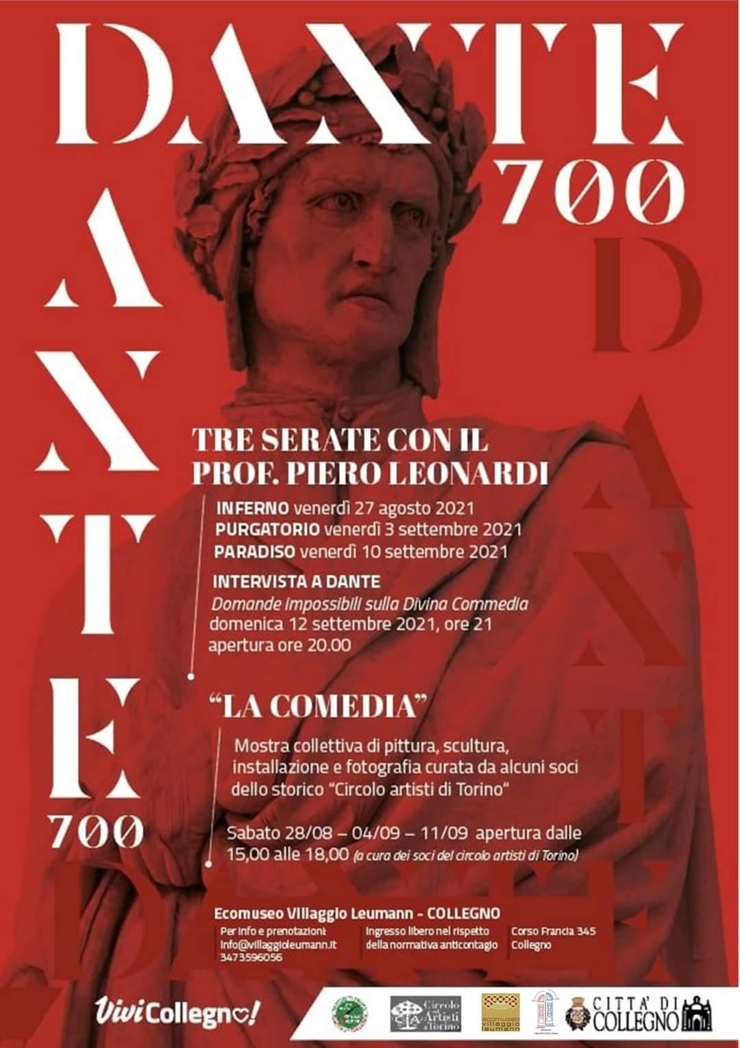 Eventi dedicati a Dante Alighieri